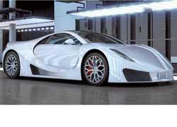 Небольшая испанская компания GTA Motor 28 апреля презентует мировой общественности первый серийный экземпляр суперкара.