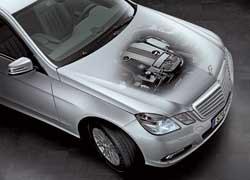 Кроме новых, в Украину будут поставляться и знакомые 6-цилинд-ровые моторы (3,0 л, 231 л. с. и 3,5 л, 272 л. с.) для Е 300 и Е 350.