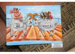Конкурс детского рисунка «Безопасность дорожного движения – это жизнь»