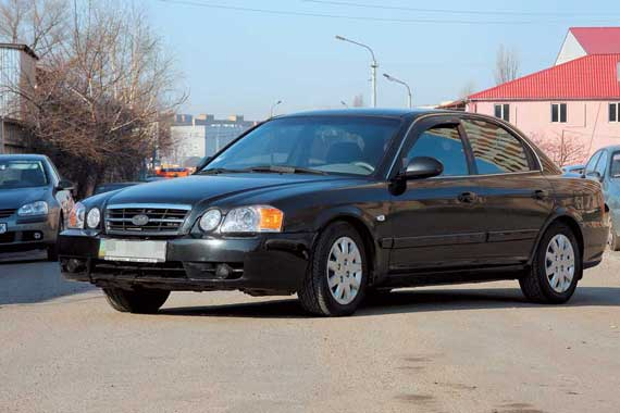 Kia Magentis 2001–2006 г. в. от $12500 до $15000