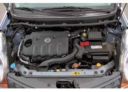 Двигатель Nissan – самый мощный в троице. Это обеспечивает лучший показатель разгона.