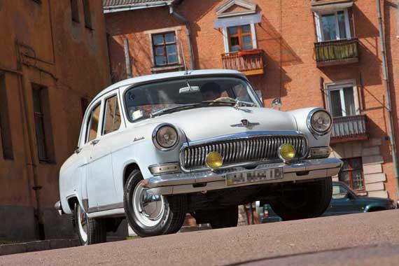 ГАЗ-21 электромобиль