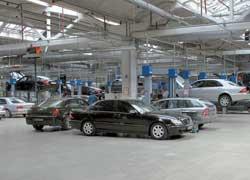 В Украине официальные СТО автомобилей Mercedes находятся в 14 из 25 областей.