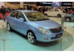 Концептуальный 4,5-метровый седан FAW TFC-A1 планируют оснащать 1,6- и 1,8-литровыми бензиновыми моторами.