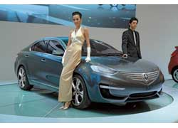 Компания Chang'An Motors (бренд Chana) удивила элегантным прототипом среднеразмерного седана CD101. Технические подробности интересной машины пока не разглашаются.
