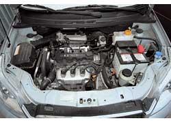 Только с таким 1,5-литровым мотором мощностью 86 л. с. и крутящим моментом 128 Нм предлагается Aveo хэтчбек.