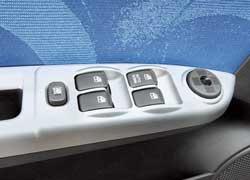 Во всех комплектациях Getz предлагает электрические стеклоподъемники для всех дверей.