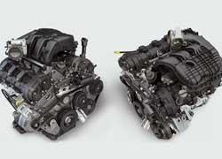 Абсолютно новая 3,6-литровая «шестерка» Chrysler Pentastar с алюминиевым блоком цилиндров на 11% экономичней своего предшественника объемом 3,7 литра. При этом мощность увеличилась на 33%, а крутящий момент – на 11%. Двигатель способен «переваривать» как обычный бензин, так и биоэтанол Е85.