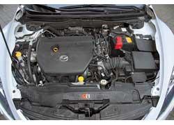 Пока не представлена новая MPS, самая мощная Mazda6 оснащена вот таким 2,5-литровым 170-сильным мотором.