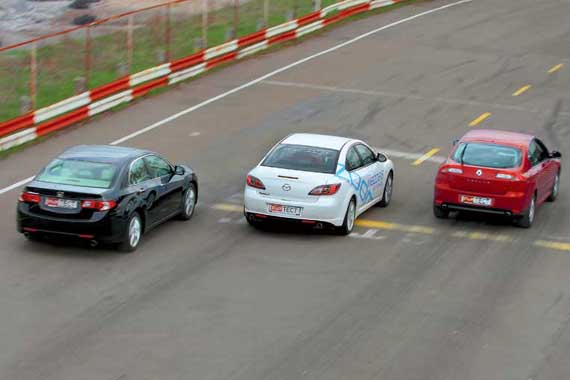 Honda Accord, Mazda6, Renault Laguna