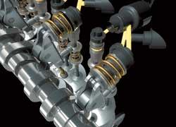 Автомобили Fiat станут экологически чище благодаря новой бездроссельной системе впуска с переменными фазами газораспределения Multi Air.