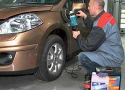 На СТО дилера Nissan «ВиДи Санрайз Моторс» впервые в Киеве предлагают высокотехнологичную защиту Xzilon для всех поверхностей автомобиля.