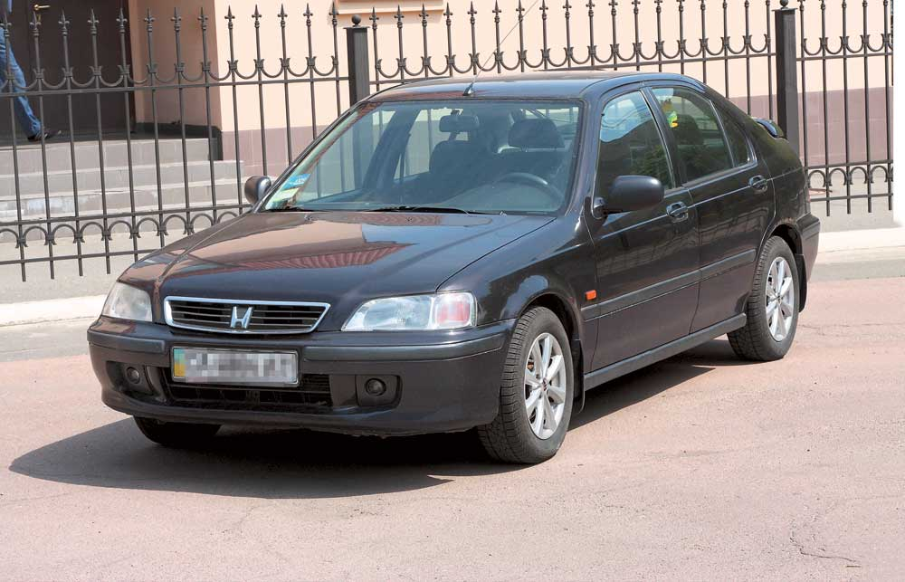 все о honda civic 2001г