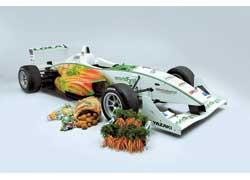 «Зеленый» болид Формулы-3