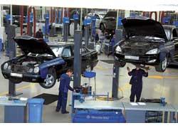 Чтобы понять, что означает «реконструкция» и «переоснащение», достаточно посмотреть на предприятия «УкрАвто» и список производителей оборудования, которое здесь используется.