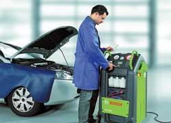 На украинском рынке оборудования для автосервиса появилась новая серия приборов для обслуживания систем кондиционирования воздуха в легковых и грузовых автомобилях Bosch ACS 600/650.