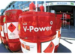 Топливо Shell V-Power