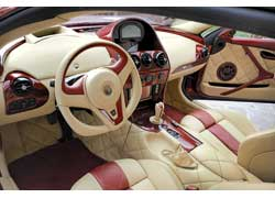 Купе Antas изготовлено исключительно вручную. Мастера с гордостью говорят о том, что при создании машины они не использовали компьютеров. Поэтому автомобиль выглядит совершенно иначе, чем его современные «собратья».