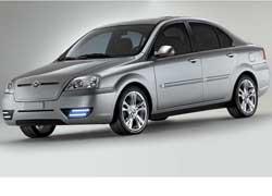 Молодая калифорнийская компания Coda Automotive представила среднеразмерный (длина – 4445 мм) переднеприводный электромобиль Coda.