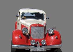 Mercedes 170 была одной из самых популярных моделей компании в предвоенные годы.