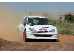 В этот раз Peugeot 206 S1600 не подвел Юрия Яковенко, итог – первое место в А7.