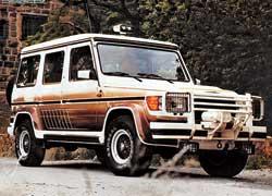 1987. Образец раннего тюнинга G-Klasse от AMG с 5,6-литровым V8 под капотом.