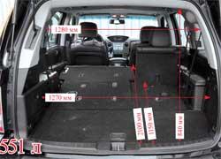 Багажное отделение в Honda Pilot в максимальной конфигурации получается ровным и удобным.