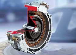 Для гибридных силовых установок инженеры Bosch создали 50-киловаттные электромоторы, которые монтируются за маховиком.