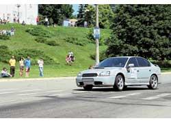 Отдельный зачет Subaru возглавила не Impreza, а Legacy.