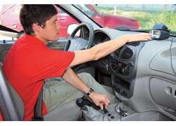 Динамические замеры тестируемых автомобилей