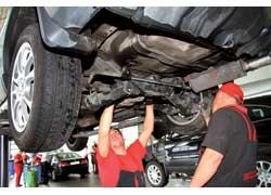 В ходе техобслуживания меняется масло не только в моторе, но и в заднем дифференциале.