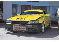 Nissan Skyline одессита Вадима Блехмана совершенствуется с каждым сезоном.