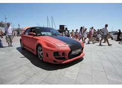 Как, однако, изменила матовая окраска старую добрую Mazda 323F Тараса Коваля...