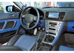 Севастопольский тюнинг-центр Baikonur, подготовивший эту Subaru Legaсy, громко заявил о себе еще в прошлом году.
