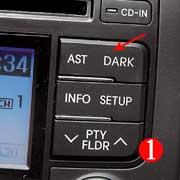 Не обнаружив регулятора яркости подсветки, в темноте мы просто гасили ярко-синий экран на консоли.