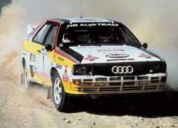 Гоночные quattro под управлением Вальтера Рерля, Мишель Мутон, Стига Бломквиста и Ханну Микола принесли Audi немало побед.