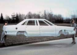 Уникальная алюминиевая пространственная рама Audi Space Frame (ASF) стала основой для серийной Audi A8.