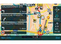 Компания Audi улучшила разрешение экрана и повысила скорость определения маршрута навигационной системы MMI (Multi Media Interface) в моделях A3, TT и R8.