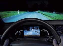 Работа системы ночного видения с системой распознавания объектов