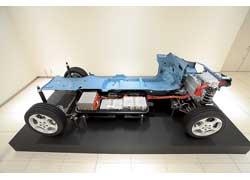 Готовую платформу для производства электромобилей представил Nissan.