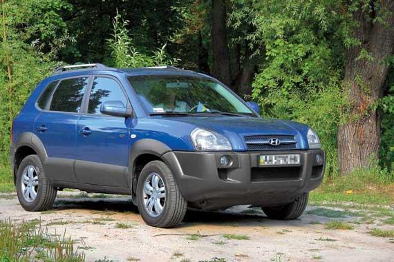 Hyundai Tucson c 2004 г. от $15 000 до $25 000