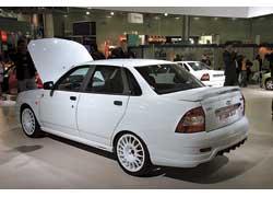 Форсированный 1,6-литровый двигатель Lada Priora Sport выдает 125 л. с. (+ 27 л. с. к базовому).