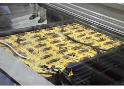«ГАЗель Электро» оснащена электромотором (59 кВт) и комплектом литий-железофосфатных АКБ.