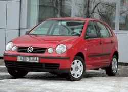 VW Polo 2001–2009 г. в.