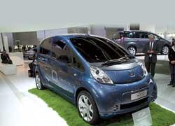 Сотрудничество PSA Peugeot-Citroёn иMitsubishi принесло новые плоды: Peugeot iOn – «брат-близнец» Mitsubishi i-MiEV.