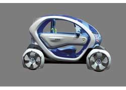 Renault Twizi Z.E. с 15-киловаттным