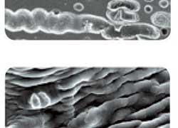 В состав резиновой смеси входит множество bite-микрочастиц, которые работают на льду, как микрошипы, улучшая сцепные свойства  на таком покрытии.