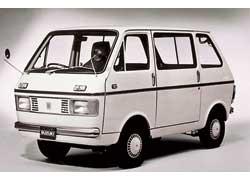 Внешность 4-местного kei-микроавтобуса Suzuki Carry L40V с 360-кубовым мотором была разработана итальянским ателье Italdesign.
