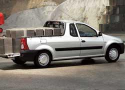 Еще одна модификация – открытый коммерческий грузовичок Logan Pick-Up