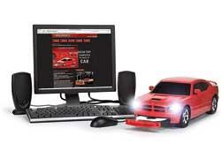 Для фанатов модели Dodge Charger и любителей оригинальных идей компания PC Rides создала компьютер, системный блок которого выполнен в виде автомобиля.